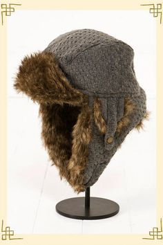 east coast trapper hat...everyone in my house has one of these...SO warm.