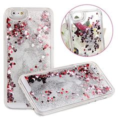 """Cases For Iphone 6 Plus,Plastic Cases for iphone 6 Plus 5.5 inch,Hard Covers For Iphone 6 5.5"""",UZZO™Creative Design Transparent Fantastic Plastic 3D Aquarium Glitter Quicksand Hearts Free Flowing Liquid Hard Shell Case for Apple iPhone 6 Plus With 5.5inch Screen With 1Free Keyring (Heart:Sliver) UZZO http://www.amazon.com/dp/B00NIPRML4/ref=cm_sw_r_pi_dp_7JJpvb0H18PFC"""