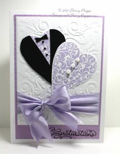 Bridal Shower card by SoSherry - Cards and Paper Crafts at Splitcoaststampers