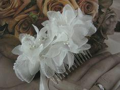 Wedding Hair Comb by bridesstudio on Etsy, $25.00