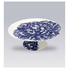 Blue Peony Serving Dishes by Caskata | Gracious Style