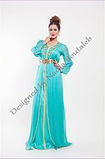 Nadia Boutaleb Caftan Haute Couture Casablanca