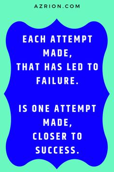 Attempt, attempt and keep attempting new challenges and new ideas. The more you attempt, the closer you get to making your dreams come true and what you desire to become the reality that you would like. Dont stop yourself from making attempts in life that could yield great results. #attempt #makeattempts #attemptnewthings #quote #successquote #failurequote