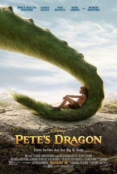 Pete's Dragon - Directed by David Lowery. With Bryce Dallas Howard, Karl Urban, Robert Redford, Wes Bentley. The adventures of an orphaned boy named Pete and his best friend Elliot, who just so happens to be a dragon. Petes Dragon Movie, Dragon Movies, New Movies, Movies Online, Good Movies, 2016 Movies, Netflix Movies, Bryce Dallas Howard, Karl Urban