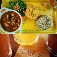 """Melhor do que conhecer lugares novos é conhecer """"O"""" lugar! Obrigada pelo convite @jumaiav!! Amei!  #ComidaDeVerdade #RealFood #AlimentandoIdeias #AlimentaçãoConsciente #AlimentaçãoIntuitiva #NutriçãoComportamental #Sustentabilidade #FaçaVocêMesmo #DIY #AmoCozinhar #DietaNuncaMais #DeOndeVemSuaComida #AlimentandoIdeiasRecomenda #pranavegetariano by alimentando_ideias http://ift.tt/1sCGT1p"""