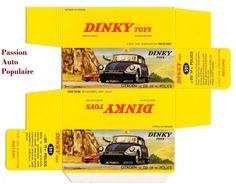 DINKY TOYS 501 CITROEN DS19 POLICE boite repro reprobox COPIE AVEC AUTORISATION | eBay