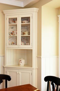 Traditional Built In Corner Cabinet White Of Cabinets Dining Room Beautiful Pieces For