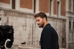 Jamie Dornan behind the scenes in Venice for HOGAN Men's Spring/Summer 2014 campaign.