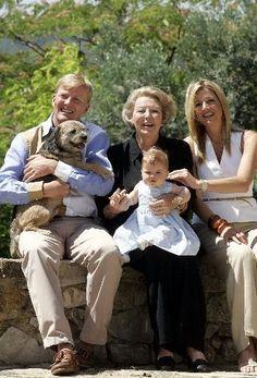 fotos koninklijke familie