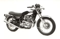 Photo d'usine / Factory picture - Triumph Trident T160, 750cc.