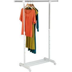 Honey-Can-Do Garment Rack, Silver
