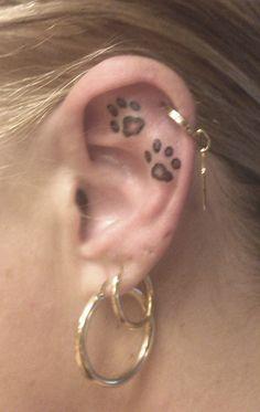 55 Incredible Ear Tattoos | Cuded