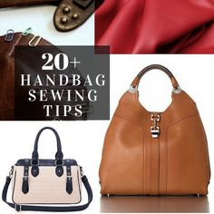20+ Tips for Sewing Handbags - The Sewing Loft