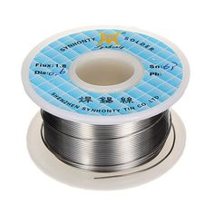 50g 0.6mm 63/37 Rosin Core Flux 1.8% Tin Lead Roll Soldering Solder Wire. Description:      50g 0.6mm 63/37 Rosin Core Flux 1.8% Tin Lead Roll Soldering Solder Wire   Using high-quality high-purity tin ingot, and with the corresponding secret flux, through advanced technology and refined, welding good fluidity, smoke, small spatter, wetting, excellent scalability, constantly core solder full, bright, solid and reliable.  Rosin core solder with a quick acting flux dissolves…