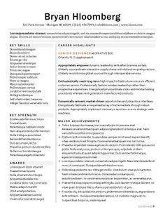 career highlights and major achievements as resume headings cv templateresume templatesexecutive resumefree