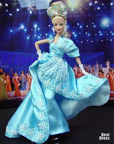Miss Hungary ( dress Hobeika )