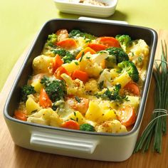 Illustration of the recipe Colorful vegetable casserole food vegetarian . - Illustration of the recipe Colorful vegetable souffle food vegetarian colorful - Vegetable Recipes, Meat Recipes, Mexican Food Recipes, Vegetarian Recipes, Healthy Recipes, Southern Food, Southern Recipes, Easy Dinner Recipes, Easy Meals