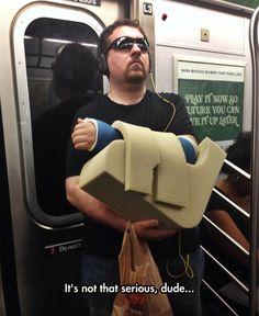 Subway Drama Queen