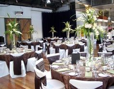 Tall centerpieces matched with our chocolate satin circle linen #tall #centerpiece #hire  #centerpiece #crystals #hire #melbourne #floralcenterpieces #floralcenterpiecesmelbourne #floralstyling #flowercenterpieces #flowersforweddings #tabledecorations #weddingcenterpiecesmelbourne #weddingdecorhire #weddingdecorationideas #weddingdesign #melbourne www.decorit.com.au (18)