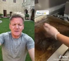 Another day, another roasting of Gordon Ramsay. Check this Gordon Ramsay vs. TikTokers: Blue Takis by @gordonramsayofficial ft @redknappsrochester.