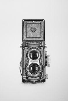 Legendary Camera Series - Rolleiflex T on Behance