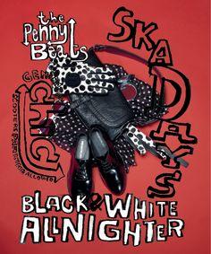 MOD STYLE #pennybeats #ska days #blackandwhite