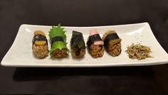 発芽酵素玄米のにぎり寿司 750円   薬膳酒場ちゃぶ膳 - 東京都 世田谷区 - Vegetarian & Vegan
