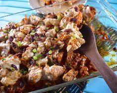 the preppy paleo: Buffalo Cauliflower & Chicken Casserole