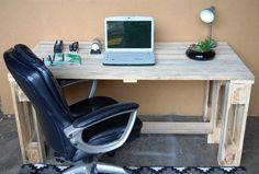 Pallet computer desks
