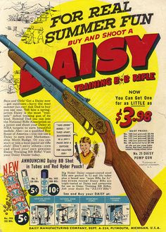 Vintage Ad #1,441: Get Yer Daisy Training Rifle! by jbcurio, via Flickr
