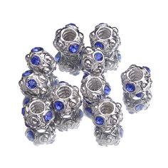 $1.83   10x15mm Alloy Enamel Beads Fit European Charm Bracelets Jewelry Blue http://www.eozy.com/10x15mm-alloy-enamel-beads-fit-european-charm-bracelets-jewelry-blue.html