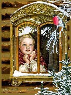 Рождество - Блеск анимации - Снег Анимации - Анимированные изображения - Страница 20