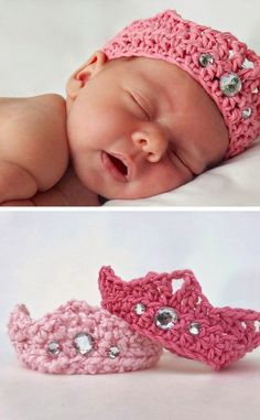Crochet Tiara | Click Pic for 35 DIY Baby Shower Ideas for Girls | DIY Baby Shower Gift Ideas for Girls