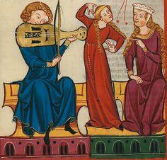 Resultado de imagen de pintura medieval los oficios