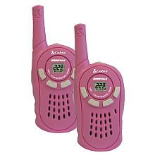 "Two-Way 16 Mile Radio - Pink - Cobra Electronics - Toys ""R"" Us"