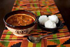 Palmnut lamb stew
