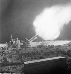 La bataille de Gazala.  1942