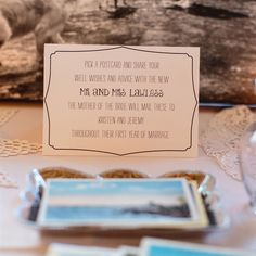 Alternative to a traditional guest book: Post cards! Such a cute idea. Free Wedding, Trendy Wedding, Our Wedding, Wedding 2017, Wedding Book, Wedding Tips, Wedding Stuff, Postcard Guestbook, Guestbook Ideas