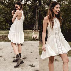74edd953a5 Apricot dress (by Ania Zarzycka) http   lookbook.nu look 3782703 ...