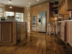 American Originals Hickory in Antique Natural my favorite in the Armstrong flooring options for Victorian inspired custom house Distressed Hardwood Floors, Bruce Hardwood Floors, Hickory Wood Floors, Hardwood Floors In Kitchen, Diy Wood Floors, Kitchen Flooring, Bruce Flooring, Rustic Floors, Distressed Wood
