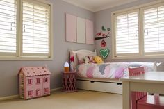 Girl's room by Lily Rose Interiors