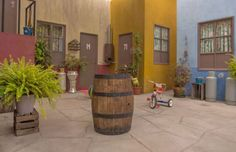 Airbnb - Vila do Chaves no México;