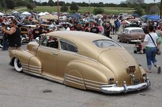 Gold Chevy Fleetline