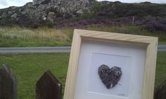 Bb and her gorgeous handmade knitted heart arrive at Skye Croft.  You can visit Bb's shop here http://folksy.com/shops/zygotegifts