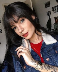 Pin on fits inspo Pin on fits inspo Hair Cut Lengths, Outfits For Teens, Cute Outfits, Fall Outfits, Grunge Girl, Woman Crush, Hair Inspo, Hair Goals, New Hair