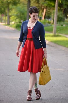 Dressed for: Faux Nautical - Already Pretty | Where style meets body image