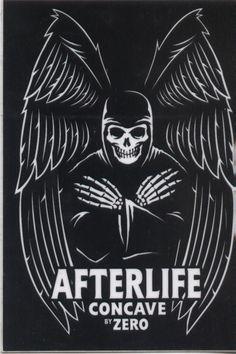 """Zero+Skateboards+Afterlife+3.5""""+Sticker"""