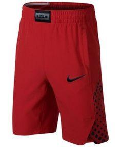 Nike LeBron James Flex Shorts, Big Boys (8-20) - Red XL