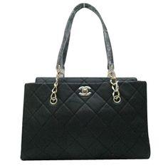 Chanel Black Luxury Leather Handbags