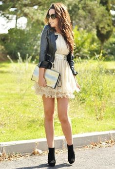Chi-chi dress, Sheinside jacket
